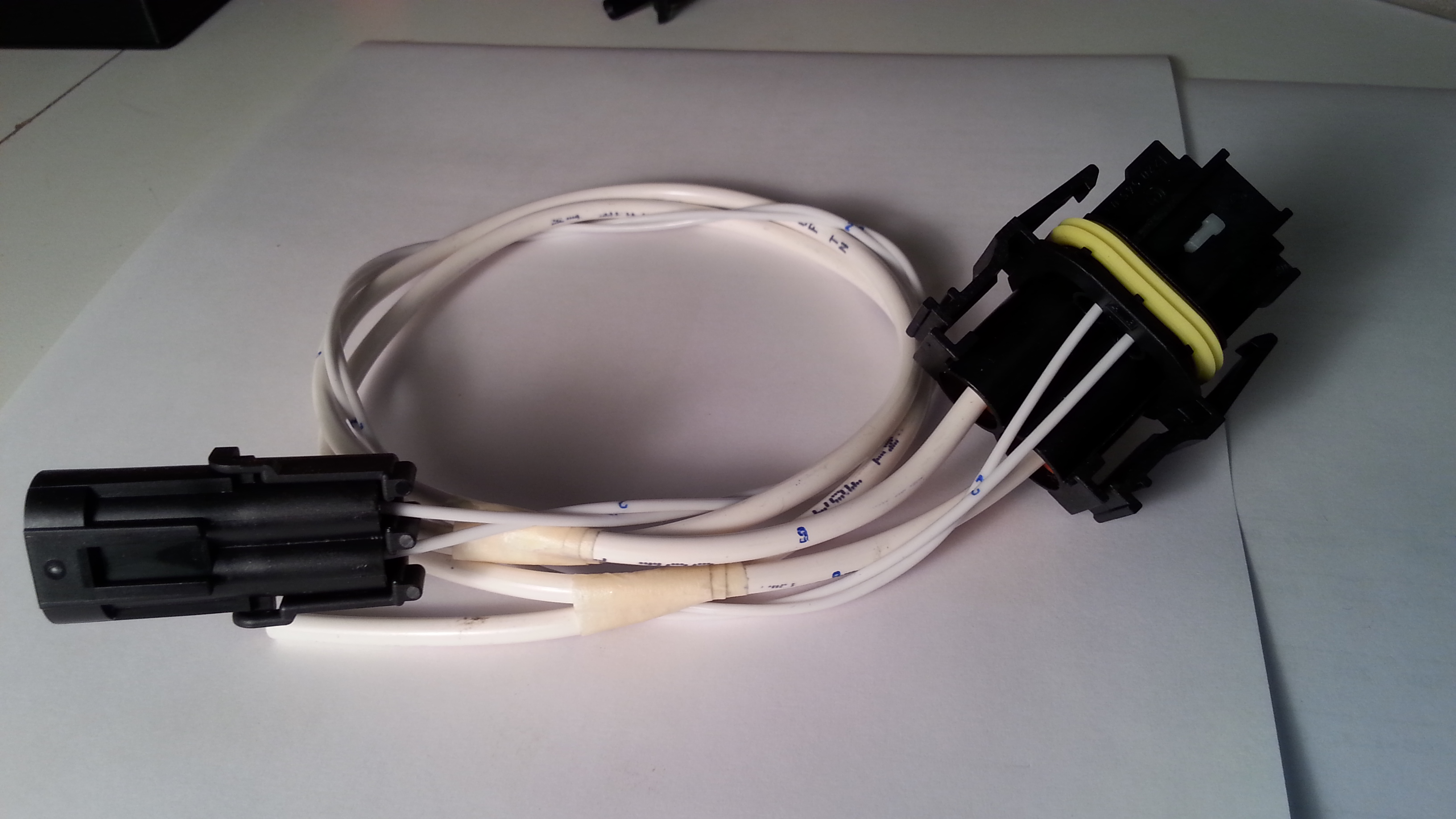 Micro Autonomations Mercedes Wiring Connectors Plug Harness For C Class Fan 45